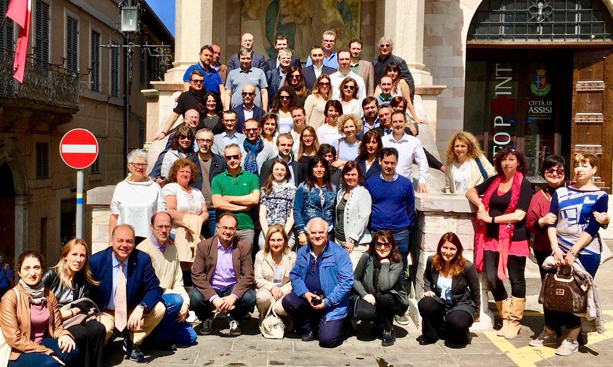Assisi 2018 - Foto di gruppo con Vaciago